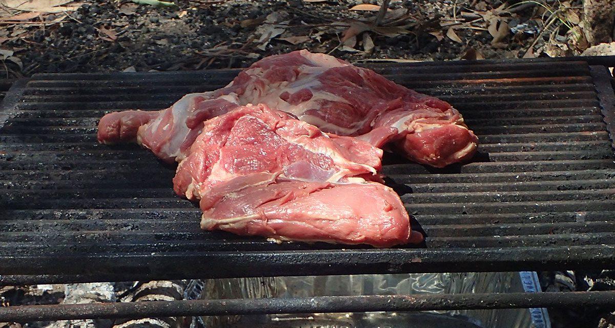 Home butchery – flat roast
