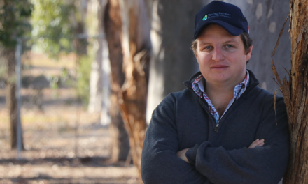 Young farmer steps up to help lead Business Program